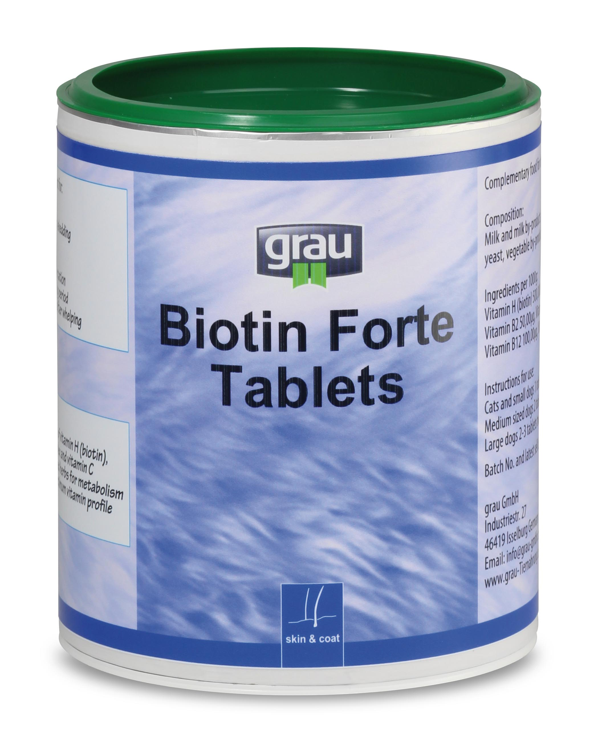 Holistic Pet Products Biotin Forte Tablets