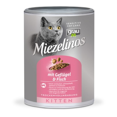 Miezelinos KITTEN with poultry & fish