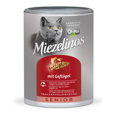Miezelinos SENIOR with Poultry for Cats