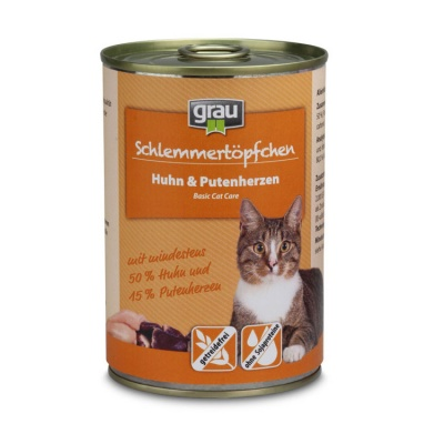 Schlemmertopfchen Grain free Chicken & Turkey