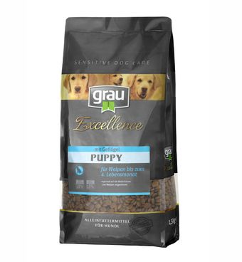Grau Excellence Puppy with Poultry