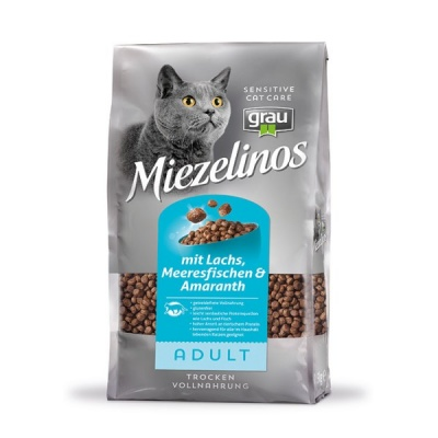 Miezelinos ADULT grain free with Salmon , Seafish & Amaranth