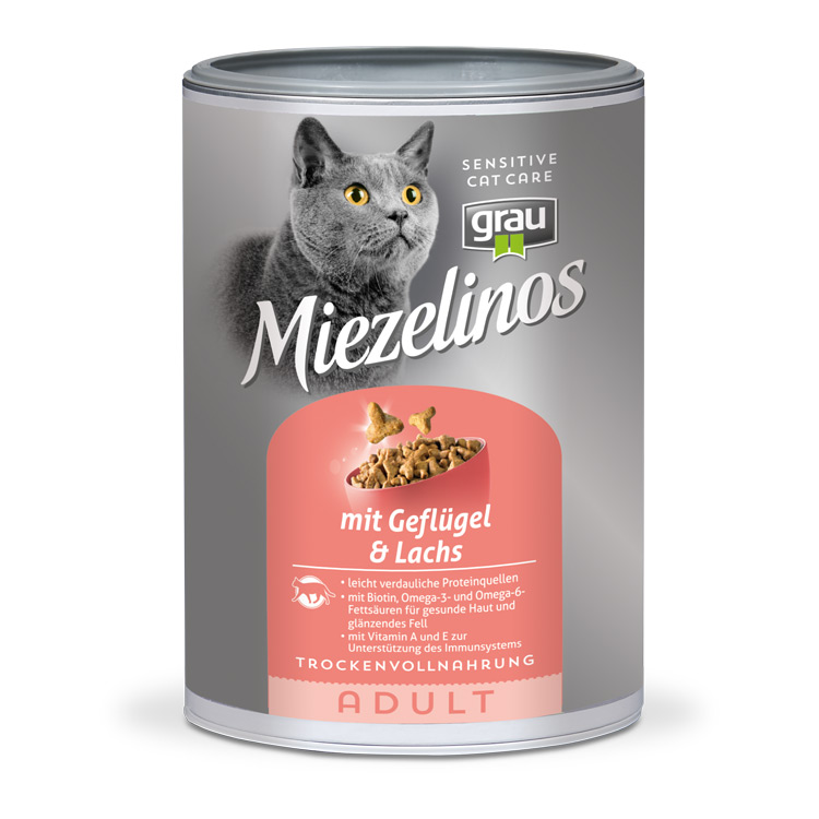 Miezelinos ADULT with Poultry & Salmon