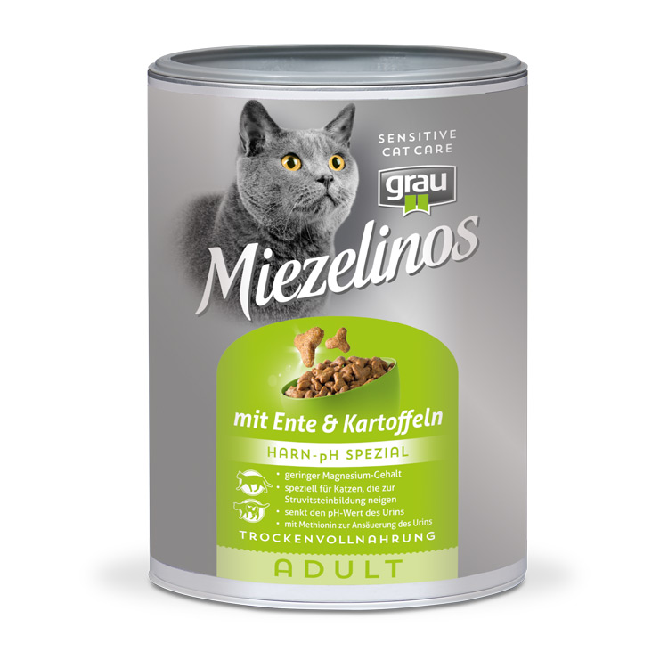 Miezelinos ADULT Harn pH Special Urinary food with Duck & Potato