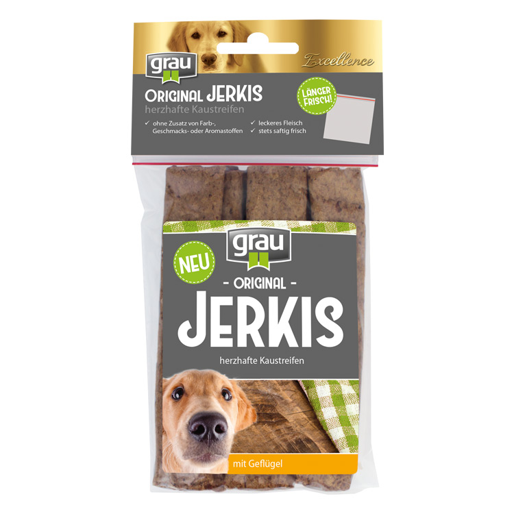 Excellence ORIGINAL JERKIS with Poultry