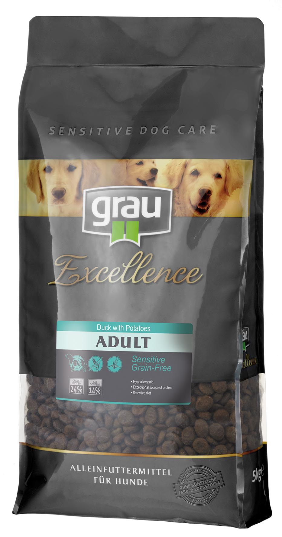 Grau Excellence Adult Sensitive Grain Free with Duck & Potatoes