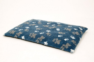 Orthopaedic Dog Mats in Paw Print Fleece