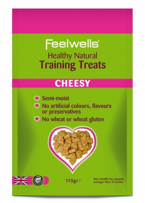 Feelwell's Cheesy Healthy Natural Traing treats 115g